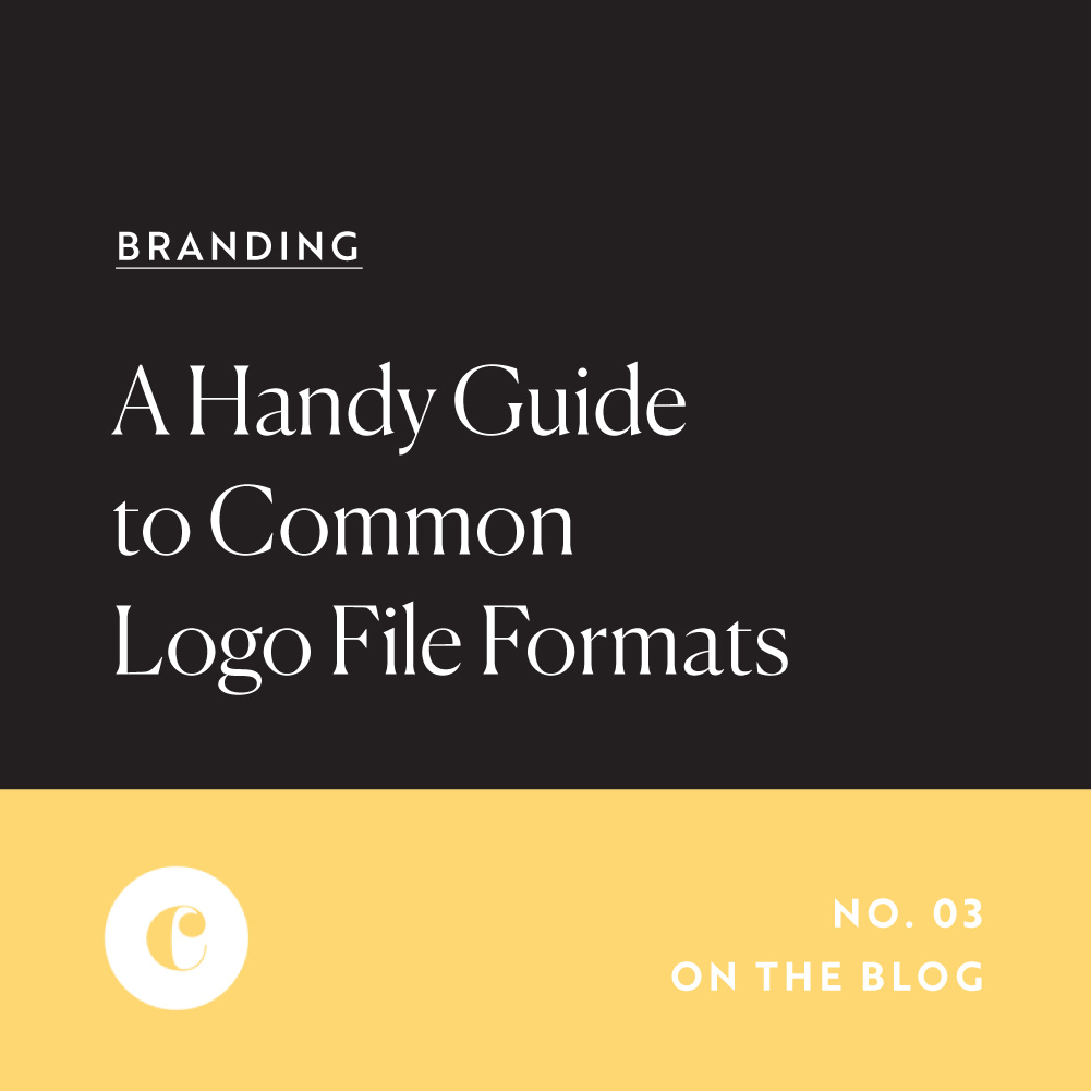 A Handy Guide To Common Logo File Formats