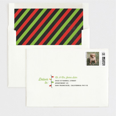 green and red envelopes