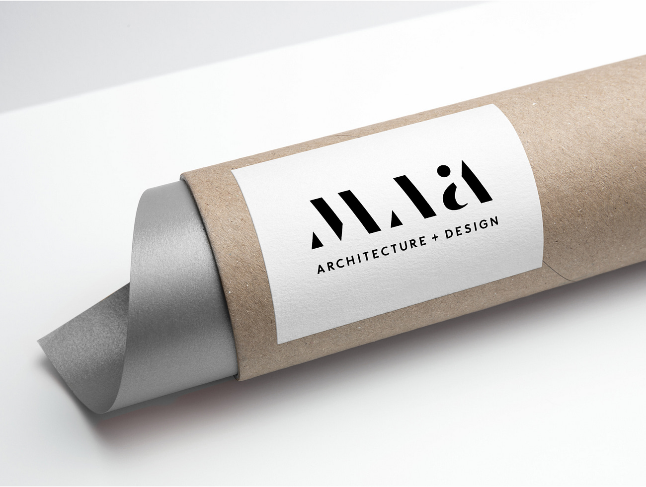Architect plants with branding collateral (sticker)